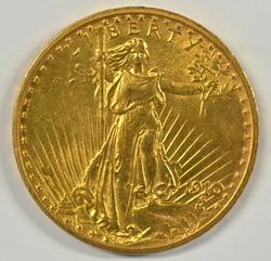 Very Pretty 1910 US St. Gaudens $20 Gold Piece