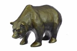 Mother Grizzly Bronze Statue