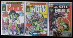 The Savage She-Hulk # 1-3 Lot of 3 High Grade.