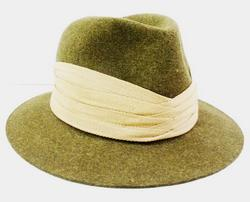 Handsome English Men's Wool Fedora - Never Worn