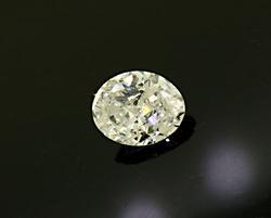 1.0 CT Near Colorless Loose Diamond Oval Cut