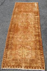 Gorgeous Handmade Persian Sarab Khanate Runner 11ft