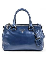 Prada Ladies Nero Soft Calf Tote Handbag