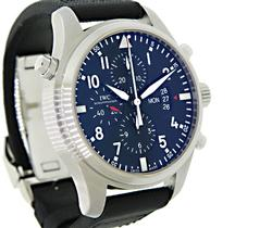 IWC Double Chronograph Day-Date Pilot Watch
