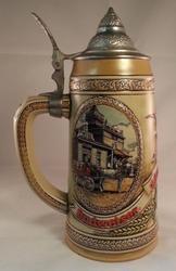 Ceramarte Beer Stein H Series Budweiser Anheuser-Busch