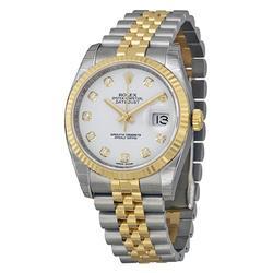 New in Box Rolex Datejust 36 w Diamond Dial, Jubilee, 18kt/Steel