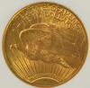 Very Choice BU 1927 St. Gaudens $20 Gold Piece NGC MS63