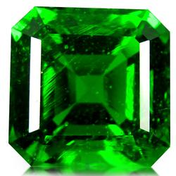 Amazing 18.13ct emerald cut Moldavite