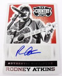 Rooney Atkins, Autographed Country Music Trade Card