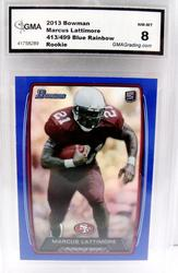 Marcus Lattimore, 49er's Rookie Football Card