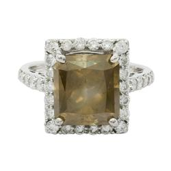 Over 7+ctw. Diamond Unity Ring in 18KT Gold