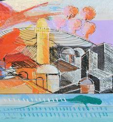 Calman Shemi - Jerusalem Limited Serigraph