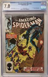 Amazing Spiderman # 265 June 10, 1985 Marvel CGC 7.0