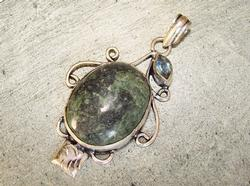 Fascinating Natural Stone Ethnic Handcrafted Pendant