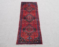 Stunning Handmade Semi Antique Persian Hamadan Rug