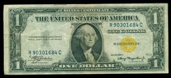 Nice 1935-A Series $1 North Africa Silver Certificate