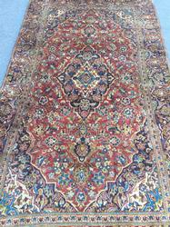 Extremely Rare Handmade Rug, Unusual Colors