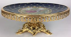 Rare Hand Painted Highly Decorative Centerpiece
