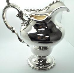 A.M.Hill Sterling Silver Pitcher, 39 ounces!