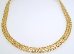 Stunning 14kt Yellow Gold Necklace, 41 Grams!