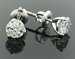 1.29 CTW Diamond Stud Earrings