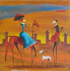 Phenomenal Esther Myatlov Painting