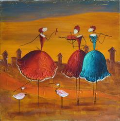 Fantastic Esther Myatlov Painting