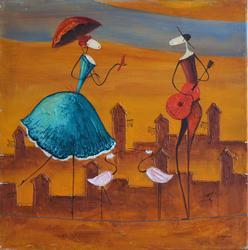 Extraordinary Esther Myatlov Painting