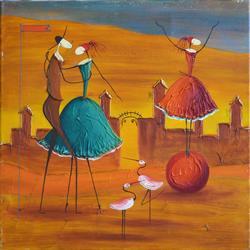 Superb Esther Myatlov Painting