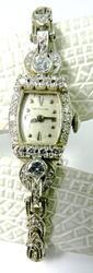 Vintage White Gold & Diamond Watch