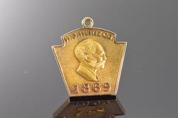 HJ Heinz Co 1869 Shield Pendant