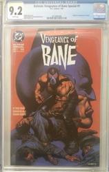 Batmen Vengeance of Bane # 1 Jan 1993 DC Comics CGC 9.2