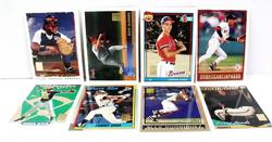 8 Topps 50 Year Reprint Baseball Cards