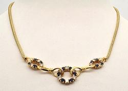 LADIES 14 KT YELLOW GOLD NECKLACE.