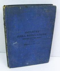 WW1 Army Infantry Drill Regulations Book