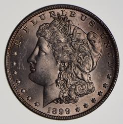 1899 Morgan Silver Dollar, Nice Unc
