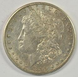 Rare 1899-S Morgan Silver Dollar. Beautiful condition