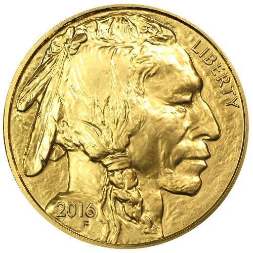 2016 BU $50 Gold Buffalo, 1 oz