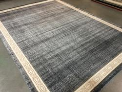 Allover Solid  Pattern Area Rug 8x11