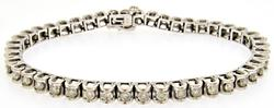 3ctw Diamond Bracelet