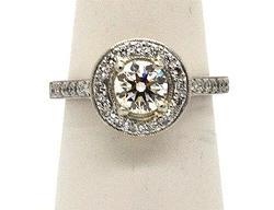 2.24 cttw Diamond Engagement Ring