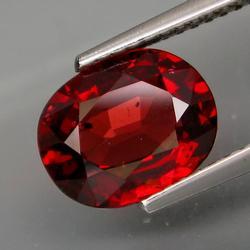Vivid 2.67ct cherry red Garnet