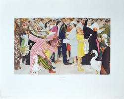 Norman Rockwell -Saturday People - Collotype On Paper
