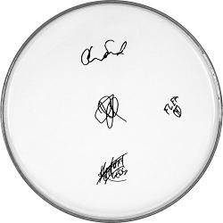 THE RED HOT CHILI PEPPERS CLEAR DRUMHEAD