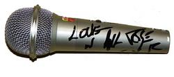 GUNS N ROSES MICROPHONE - AXL ROSE - SLASH - DUFF