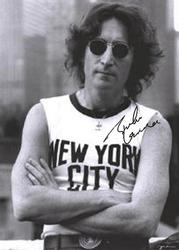 BEATLES JOHN LENNON NEW YORK CITY SLEEVELESS POSTER