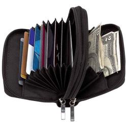 Ladies Accordion Wallet WIth Credit Card Holder