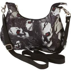 Fancy Convertible Skull Handbag