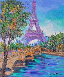Yana Rafael River By The Effiel Tower