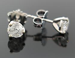 1.25 CTW Diamond Stud Earrings